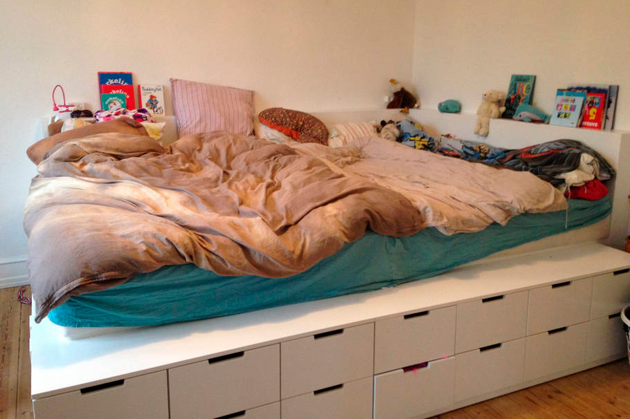 Dobbelt dobbelt seng - perfekt tik samsovning