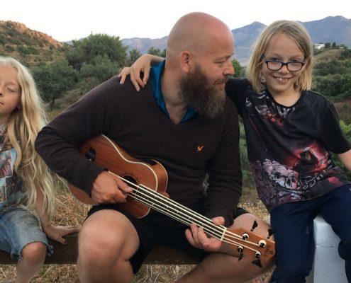 Jesper, Storm og Lucas i Andalusien