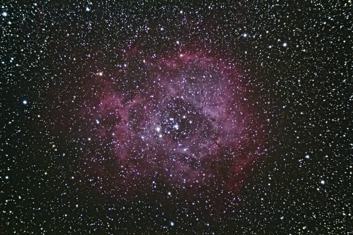 Rosette Nebula 6400 386s