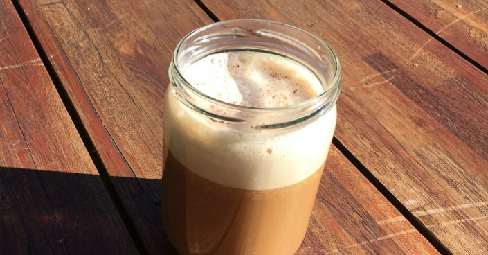 Vegan bulletproof latte