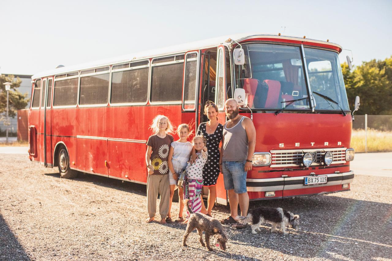 Familiefoto inkl bus
