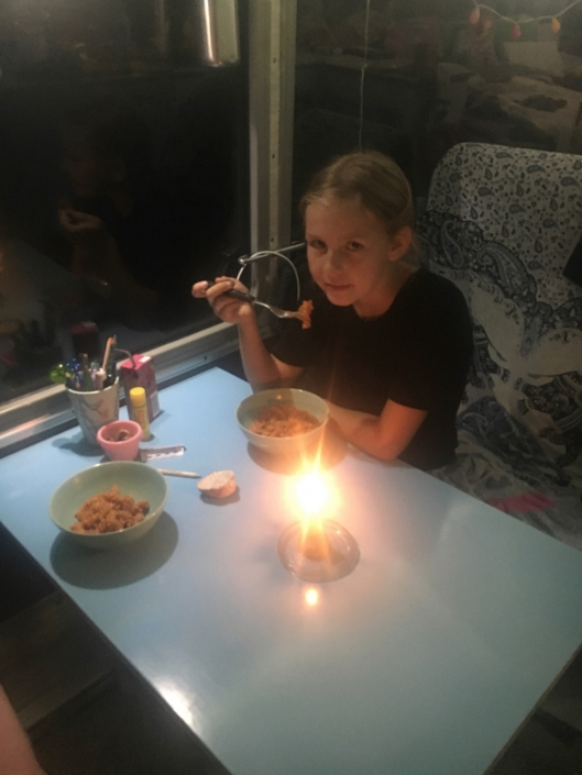 And having a simple meal in the bus, was what we in Danish call: Hygge.