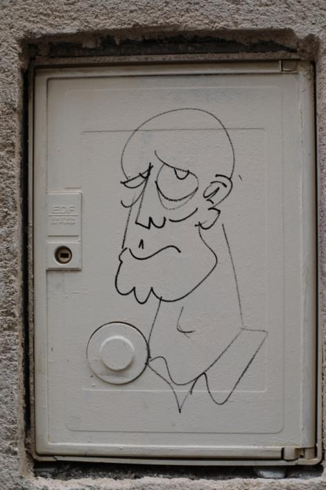 Fast street art