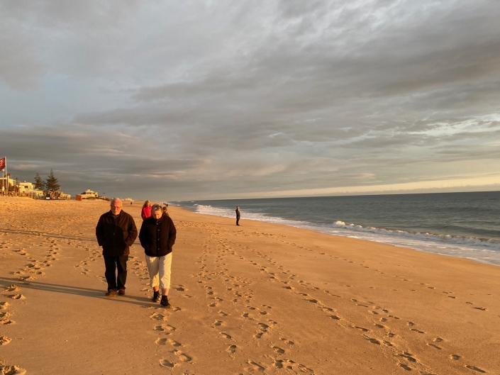 Walking life together