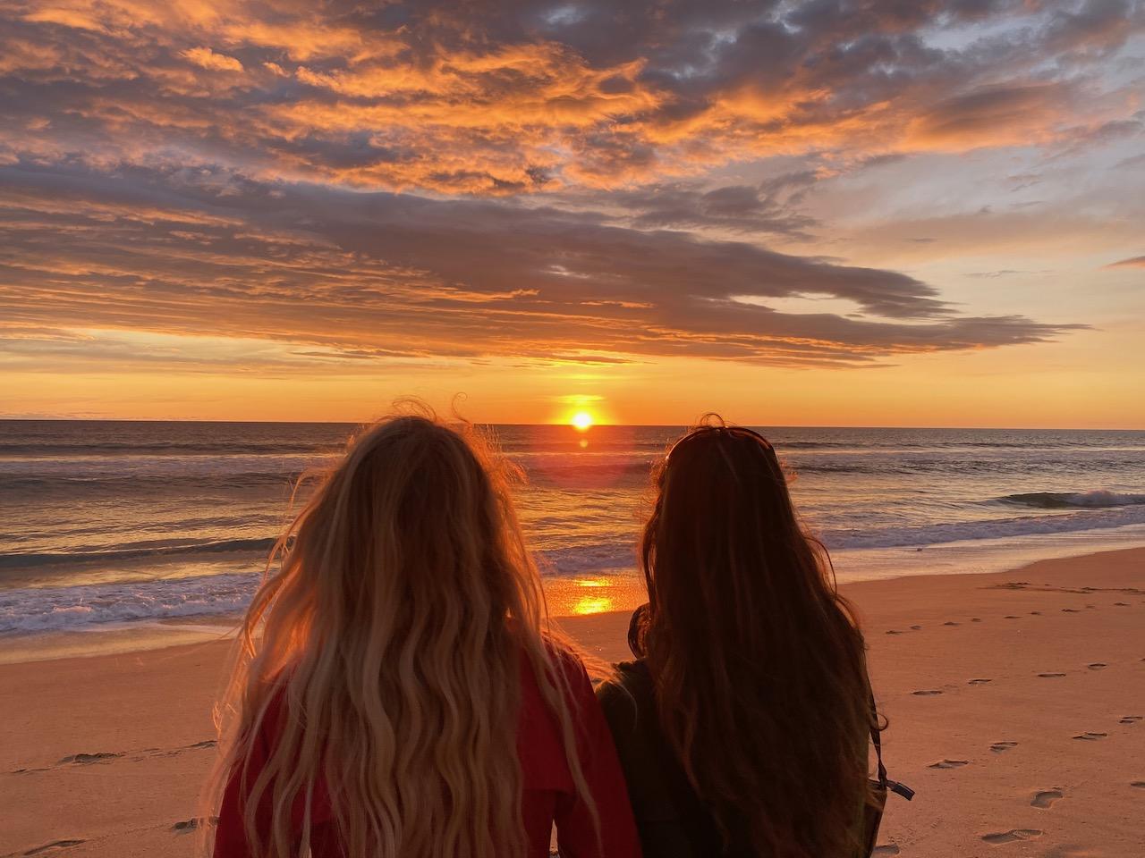 sunset Faro